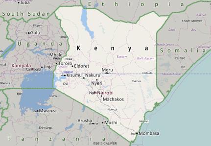 Kenya Mapping Software
