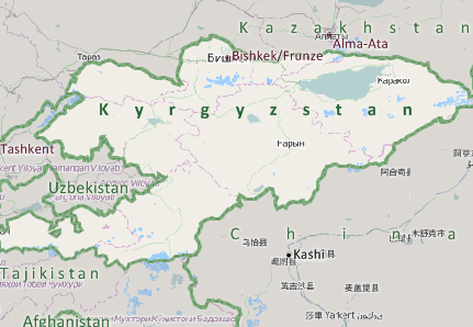 Kyrgyzstan Mapping Software