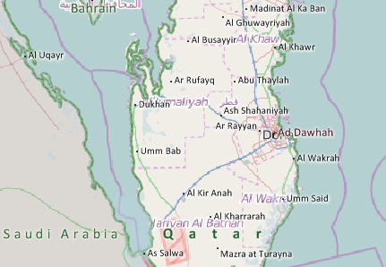 Qatar Mapping Software