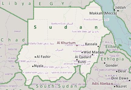 Sudan Mapping on