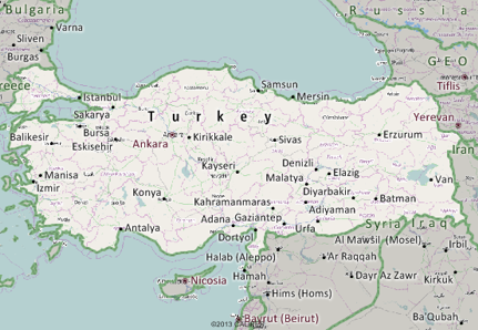 Turkey Mapping Software