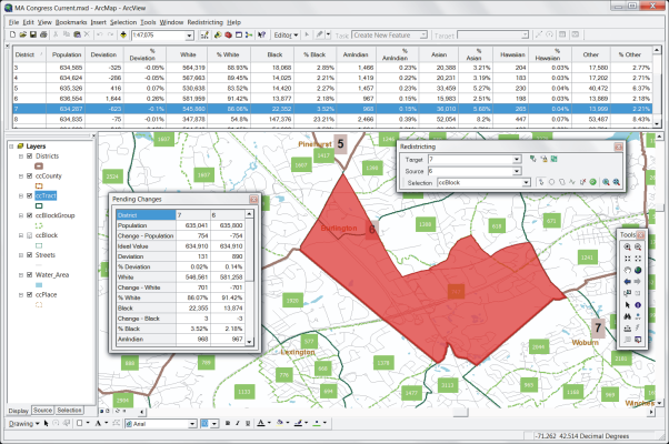 ArcGIS Extension for Redistricting