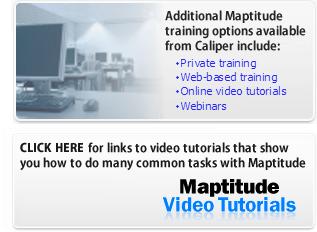 Other Maptitude Training Options